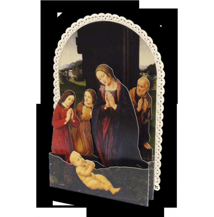 Adorazione del Bambino, Lorenzo di Credi