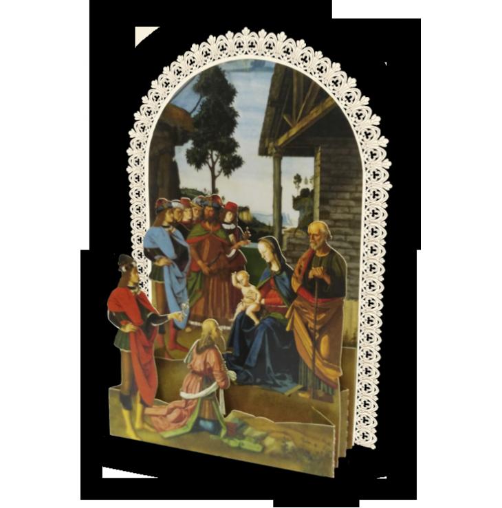 Adorazione dei pastori, Perugino