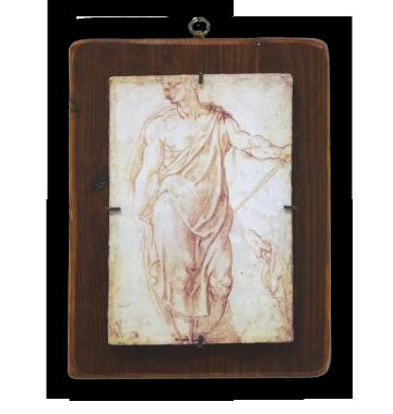 """Michelangelo Buonarroti """"Studio di Apostolo in piedi"""""""