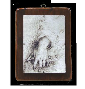 """Andrea del Sarto """"Studio di una mano"""""""