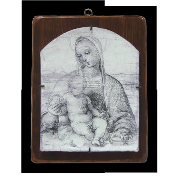 """Raffaello Sanzio """"Madonna della Melagrana"""""""