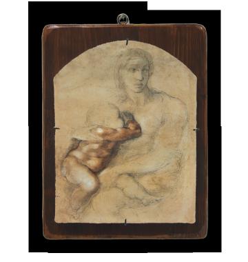 "Michelangelo Buonarroti ""Madonna con Bambino"""