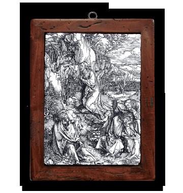 Gesù sul monte degli ulivi
