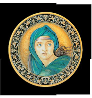 Sibilla Delfica, da Michelangelo