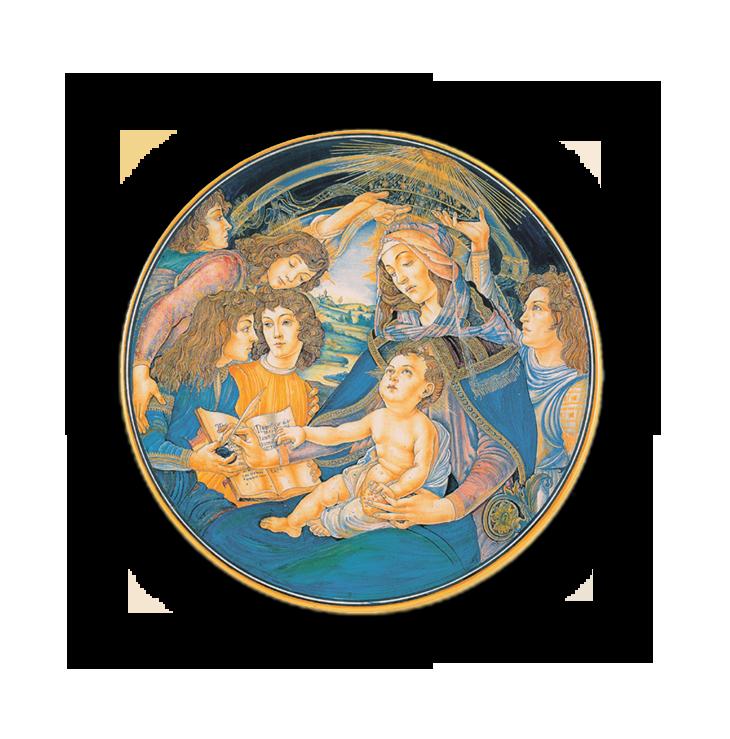 Madonna del Magnificat, da Botticelli