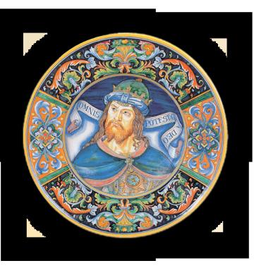 Adorazione dei Magi, da Perugino