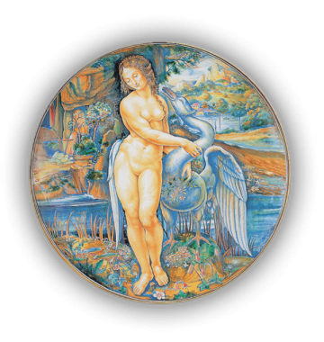 Leda con il cigno, scuola di Leonardo