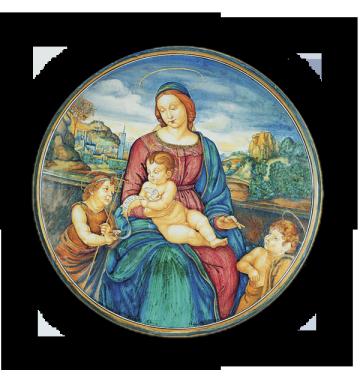 Madonna di Terranova, da Raffaello