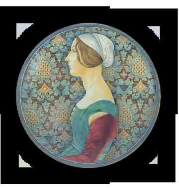 Ritratto di donna, da Ghirlandaio