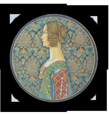 Giovanna Tornabuoni, da Ghirlandaio