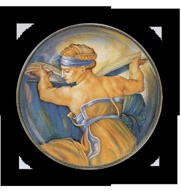 Sibilla Libica, da Michelangelo