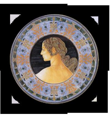 Una delle Tre Grazie, da Botticelli