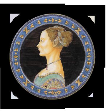 Ritratto di donna, da Pollaiolo
